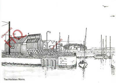 Postcard::Nairn, The Harbour