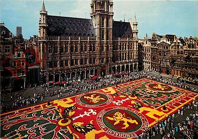 Postcard:-Brussels, Grand Place, Tapis De Fleurs, Flower Carpet