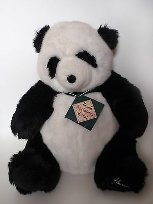 "Harrods 1993 Foot Dated 13"" Collectable Annual Christmas Teddy Bear Panda Tagged"