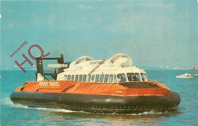 Postcard:-HOVERCRAFT, WINCHESTER CLASS (SR-N6) MK 1S, HOVERTRAVEL, ISLE OF WIGHT