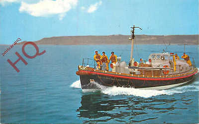 Postcard:-LIFEBOAT, ST. MARY'S, ISLES OF SCILLY