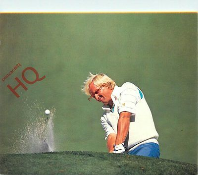 Postcard-:Golf, 'Norman At The Masters' [Art Unlimited]