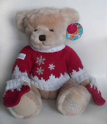 "Harrods 2008 Foot Dated 13"" Annual Christmas Teddy Bear Named Oscar Tagged"