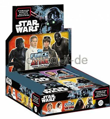TOPPS Force Attax - Star Wars - Universe - Display (24 Booster) - Deutsch