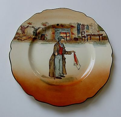 Royal Doulton Dickens Ware Scalloped Plate - The Artful Dodger