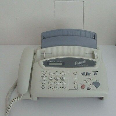 BROTHER FAX-560 Personal Plain Paper Phone Copier Machine New Ink Roll EUC