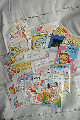 A Nice Job Lot 50 Greeting Cards,mixture,birthday,son,mother,anniversary,aunt,