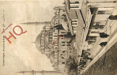 Postcard; Constantinople (Istanbul) Mosquee De Faith