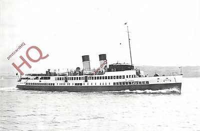 Postcard; CALEDONIAN STEAM PACKET CO., T.S 'QUEEN MARY II'