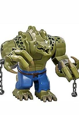 LEGO The Batman Movie Killer Croc Big Figure Split from Set 70907 New