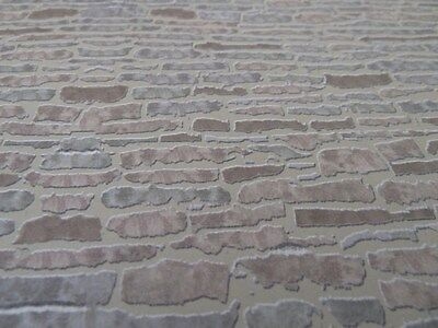 Dolls House Emporium Miniature 1:12th Scale Country External Stone Wallpaper