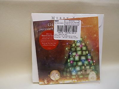 George Michael December Song CD RARE special 1st issue XMas Card 4 Track 2009