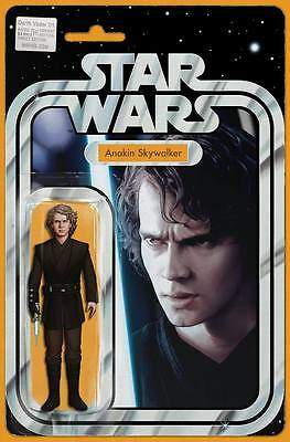 Anakin Skywalker Action Figure Variant Darth Vader #1  John Tyler Christopher