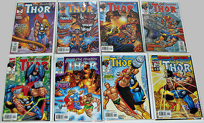 The Mighty Thor #1-24, Annual & What If? Romita Jnr, Jurgens Complete Run