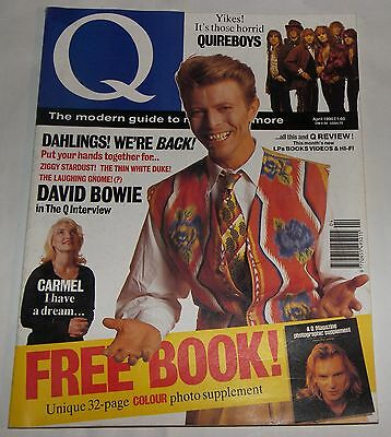 David Bowie Q Magazine April 1990 Number 43 No 43