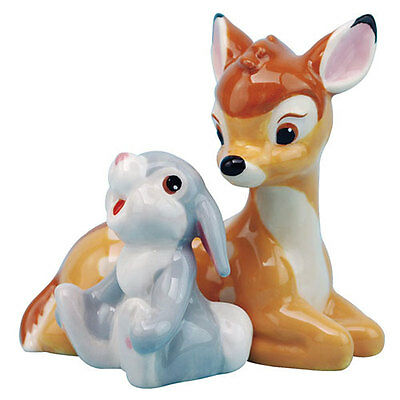 Bambi and Thumper Salt and Pepper Shaker Westland Disney New