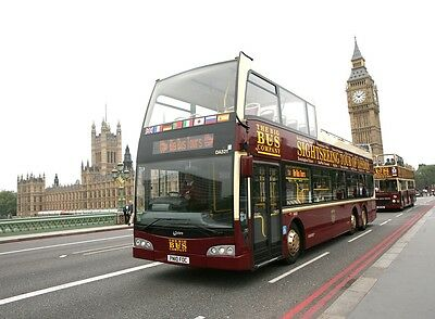 2 x 48HR TICKETS FOR BIG BUS LONDON OPEN BUS TOUR + FREE LONDON MAP