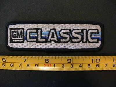 Embroidered patch GM CLASSIC General Motors BUS Transit public school vintage