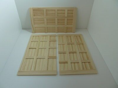 Dolls House Miniature 1:12th Scale Building Tudor Style Wood Wall Panels (3017)