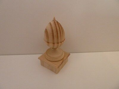 Dolls House Emporium Miniature 1:12th Scale Building Wooden Acorn Finial (7480)