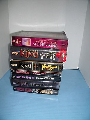 Lot Of 7 Stephen King Dark Tower Series*wolves Of The Calla*song Of Susannah...