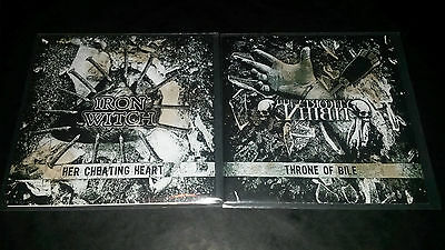 "Iron Witch / The Atrocity Exhibit  Split 7"" single"