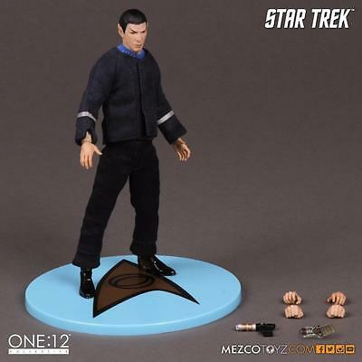 """One-12 Collective Star Trek """"The Cage"""" Variant Spock Action Figure  MEZCO TOYS"""