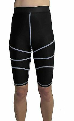 Womens Compression Shorts Size 10 SmallKnee Hight Black Skins Base Layer Sports