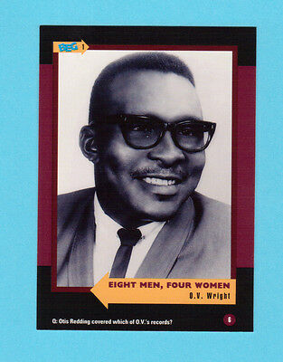 O.V. Wright Soul Music Collector Card  Have a Look!