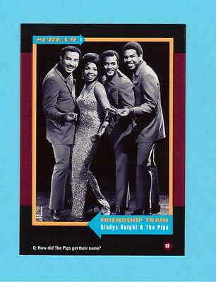 Gladys Knight & The Pips Soul Music Collector Card  Have a Look!