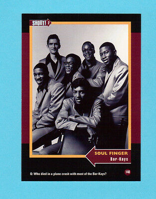Bar-Kays Soul Music Collector Card  Have a Look!