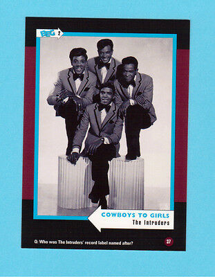 The Intruders Soul Music Collector Card  Have a Look!