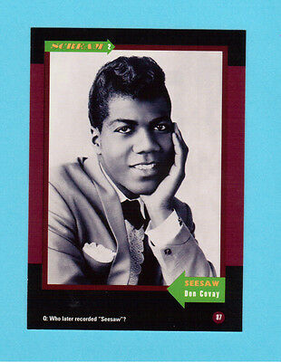 Don Covay and The Goodtimers Soul Music Collector Card  Have a Look!
