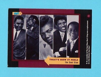 The Soul Clan  Soul Music Collector Card  Have a Look!