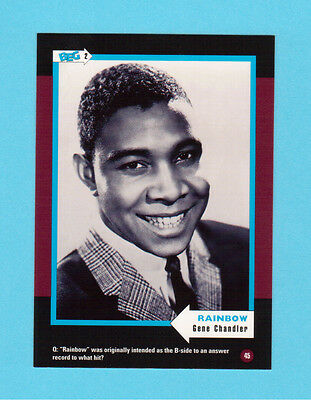 Gene Chandler Soul Music Collector Card  Have a Look!
