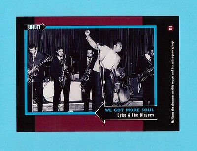 Dyke & The Blazers Soul Music Collector Card  Have a Look!