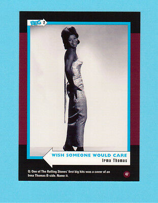 Irma Thomas  Soul Music Collector Card  Have a Look!