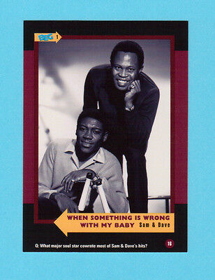 Sam & Dave Soul Music Collector Card  Have a Look!