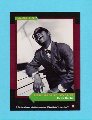 Stevie Wonder Soul Music Collector Card  Have a Look!