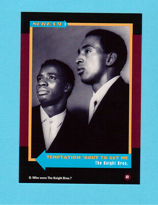 The Knight Bros. Brothers Soul Music Collector Card  Have a Look!