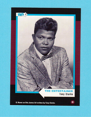 Tony Clarke Soul Music Collector Card  Have a Look!
