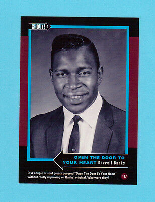 Darrell Banks  Soul Music Collector Card  Have a Look!