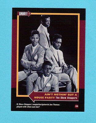 The Show Stoppers Soul Music Collector Card  Have a Look!