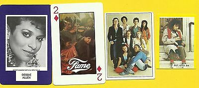 FAME TV Series Debbie Allen Fab Card Collection Drama Music Performing Arts