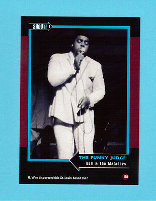 Bull & The Matadors  Soul Music Collector Card  Have a Look!