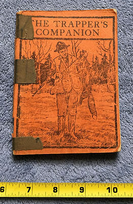 The Trapper's Companion by A.R. Harding, 1946, Vintage Hunting Trapping Book