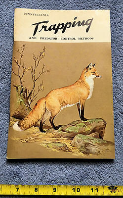 PA Trapping & Predator Control Methods by Paul Failor, 1977, Rare Hunting Book