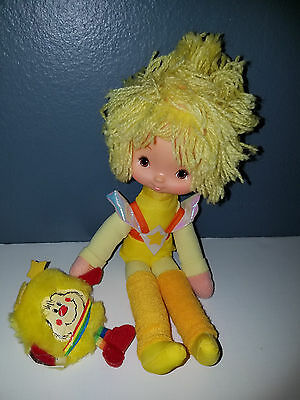 """Rare Vintage 1983 Rainbow Brite Canary Yellow Mattel100% Complete Very Clean 10"""""""