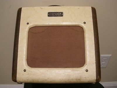 Vintage 1951-1952 Fender Champion 600 Tube Amp - 2 Tone - Very Clean Example!