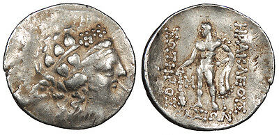 Eastern Europe Imitating Thasos, Island off Thrace AR Tetradrachm Late 2nd - 1st